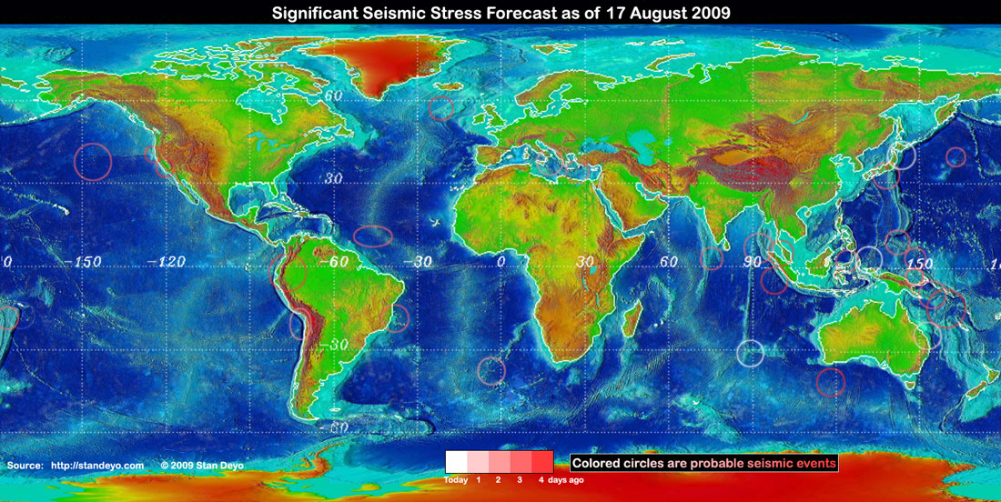 Stan deyos earthquake warning disclaimer some of the forecast stress areas can be in error up to 30 due to cloud cover variations and false signals from buoys gumiabroncs Gallery