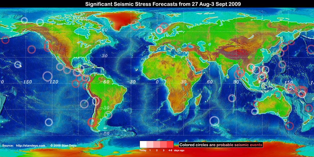 Stan Deyo Map
