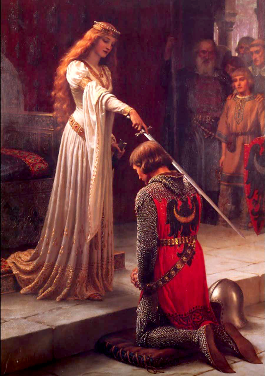 Lancelot and Guinevere  King Arthur And Guinevere